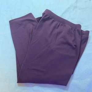 Hanes polished cotton sweat pants